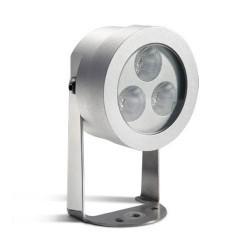 Faretto proiettore LED 9W 515LM 4500K in alluminio color grigio - MIDI