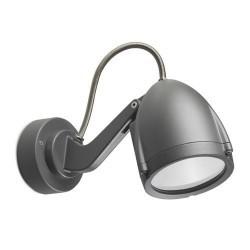 Proiettore PAR30 E27 max. 75W in alluminio color grigio scuro - ALIEN
