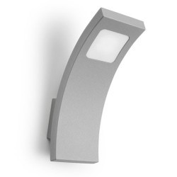 Lampada applique LED grigio da esterno - SHARPE