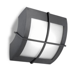 Lampada applique grigio scuro da esterno - WINDOWS