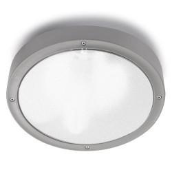 Plafoniera da esterno grigio Ø36cm - BASIC