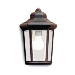 Lampada applique da esterno ruggine - PERSEO