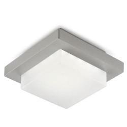 Plafoniera LED da esterni color grigio - JEP
