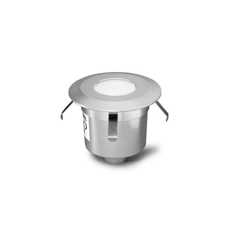 Lampada LED da incasso a pavimento giardino grigio - GEA