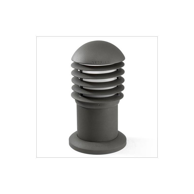 Lanterna sopra-muro da esterno grigio scuro - BALIZAS