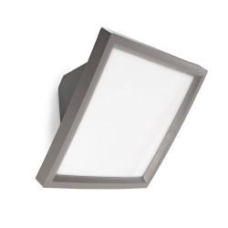 Lampada applique da esterno grigio con sensore - ACCESS