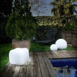 Lampada decorativa Ø25cm LED RGB da piscina - CISNE