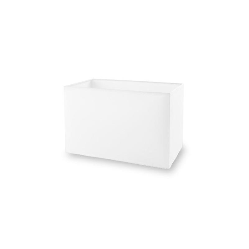 Paralume color bianco 360x185mm