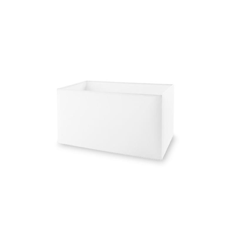 Paralume color bianco 400x200mm