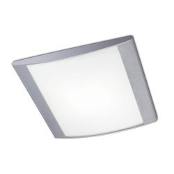 Plafoniera 350 x 360mm, grigio - ALPEN