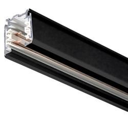 Binario trifasico a incasso 1000mm, nero