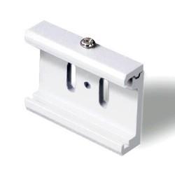 Accessorio di fissaggio diretto su controsoffitti bianco