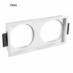 Anello cuadrato doppio per proiettore LED