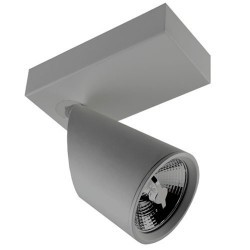 Faretto riflettore QR111 G53 grigio