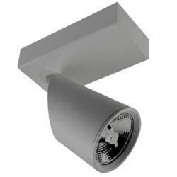 Faretto riflettore AR111 grigio