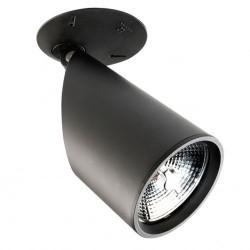 Faretto riflettore QR111 G53 nero