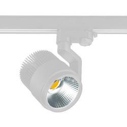 Proiettore LED a binario 26W 2000lm 3000K CRI+80 38º bianco