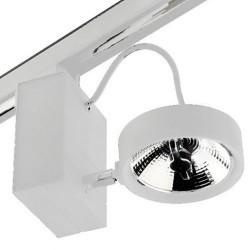 Proiettore a binario AR111 GU10 bianco