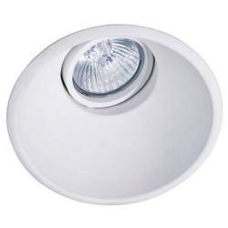 Downlight a incasso 50W GU5.3-GU10 bianco