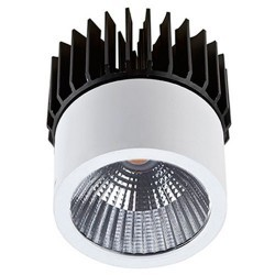 Downlight LED 7W 540lm a incasso bianco