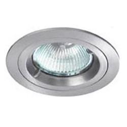 Downlight a incasso GU10 alluminio spazzolato