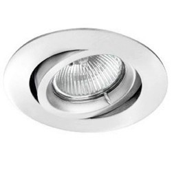Downlight a incasso orientabile GU5.3 bianco