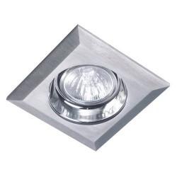 Downlight a incasso GU5.3 alluminio spazzolato