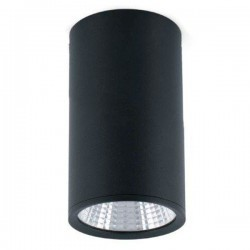 Faretto da soffitto LED nero Faro REL