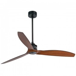 Ventilatore da Soffitto nero Faro JUST FAN