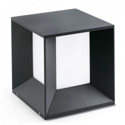 Lampioncino LED 1000mm Faro DATNA grigio scuro