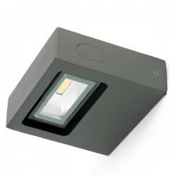 Applique LED 600lm Faro OLAN grigio scuro