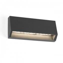 Applique LED 80lm Faro MUST-1 grigio scuro
