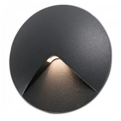 Faretto plafoniera LED 960lm Faro TAMI grigio scuro