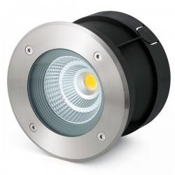 Lampada a incasso LED da esterno nichel opaco SURIA-12