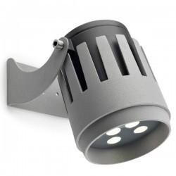 Proiettore LED 6.5W 486lm 3000K 32º Leds-C4 POWELL grigio