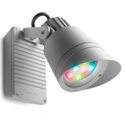 Proiettore LED 20W 1458lm 3000K 8º Leds-C4 HUBBLE grigio