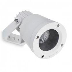 Faro proiettore GU10 tecnopolimero color grigio urbano