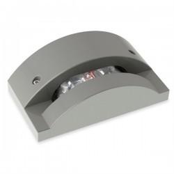 Applique LED 14.4W 3000K 1296lm Leds-C4 AFRODITA grigio urbano
