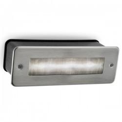 Lampada a incasso LED 5.5W 4000K 648lm Leds-C4 MICENAS grigio urbano
