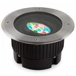 Lampada a incasso LED 6W RGB EASY+ Leds-C4 GEA acciao 316