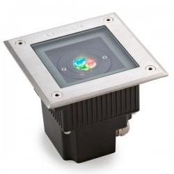 Lampada a incasso LED 11W RGB EASY+ Leds-C4 GEA acciao 316