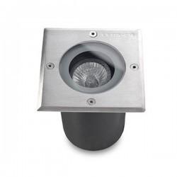 Lampada a incasso LED 16W 4000K 2034lm Leds-C4 GEA acciao 316