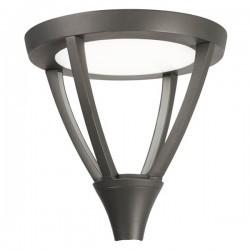 Lampada LED 55.5W 4000K 6468lm per lampione Leds-C4 GLAVA grigio