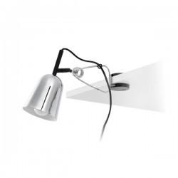 Lampade da Scrivania Faro STUDIO PINZA CROMO/BLANCO MATE E14
