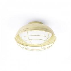 Lampade da Esterno -  Plafoniere Faro HELMET PLAFON BLANCO ROTO E27 12W