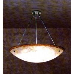 Lampada COLGANTE 6 x E27 MAX 60W  ORO Leds C4