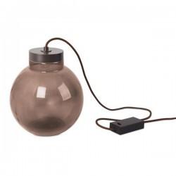 Lampada PORTATIL RAW 1 x LED CREE 7W  MARRÓN OSCURO Leds C4