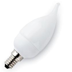 Scatola 5 Lampadine colpo di vento a basso consumo 3U T2 2700K 15000h 9W E14