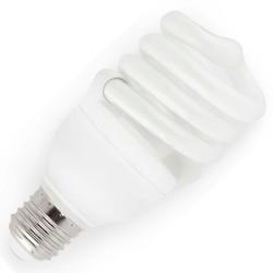 Lampadina regolabile a basso consumo T3 E27 20W 2700K 15000h