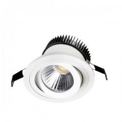 Lampada EMPOTRABLE DE TECHO DELTA COB 1 x LED CREE 25,9W Leds C4